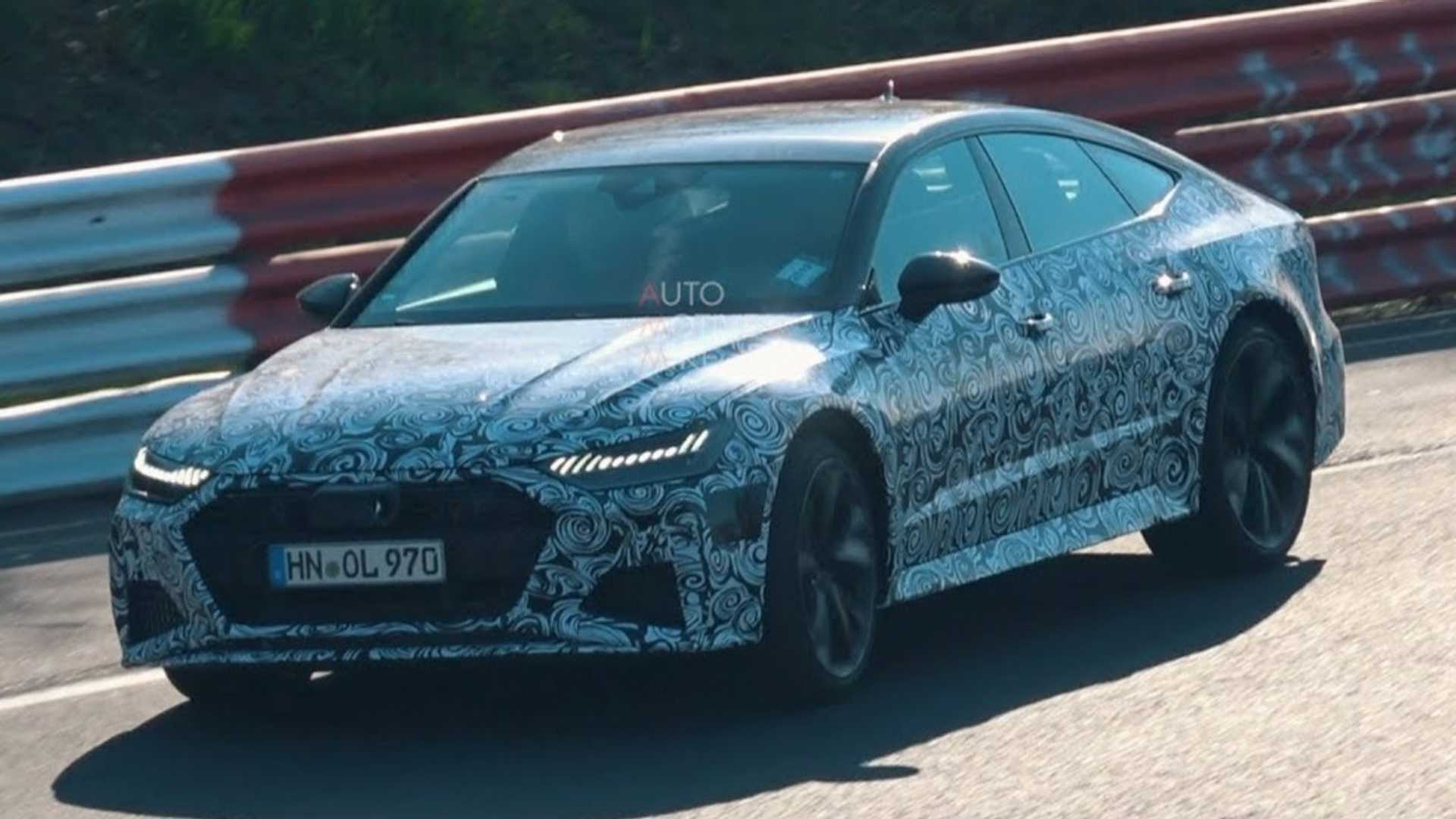 New Audi Rs7 Sportback Plays Its V8 Symphony At The Ring