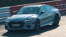 new audi rs7 spy nurburgring