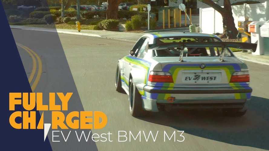 Tesla-motorokkal és 800 lóerős teljesítménnyel indul Pikes Peakre ez a BMW M3