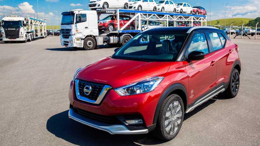 Nissan alcança 50 mil veículos exportados a partir de Resende (RJ)