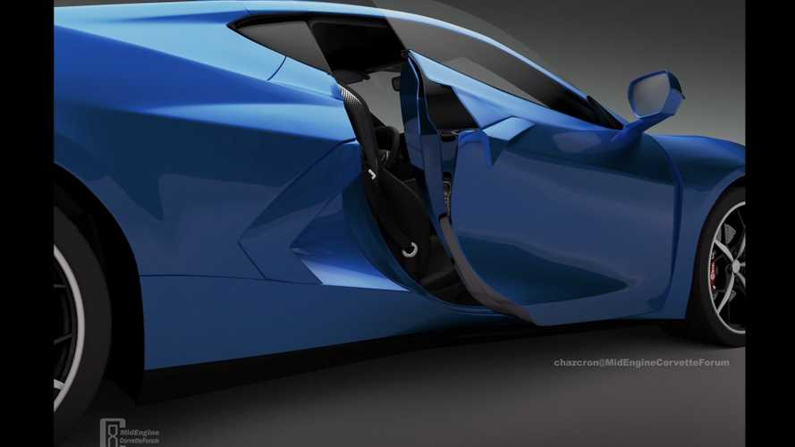 New C8 Corvette Door Rendering Seeks To Reveal The Car Early