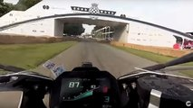 bmw s1000rr race goodwood hillclimb