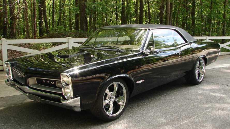 Head turning restomod 1966 pontiac gto with ls3