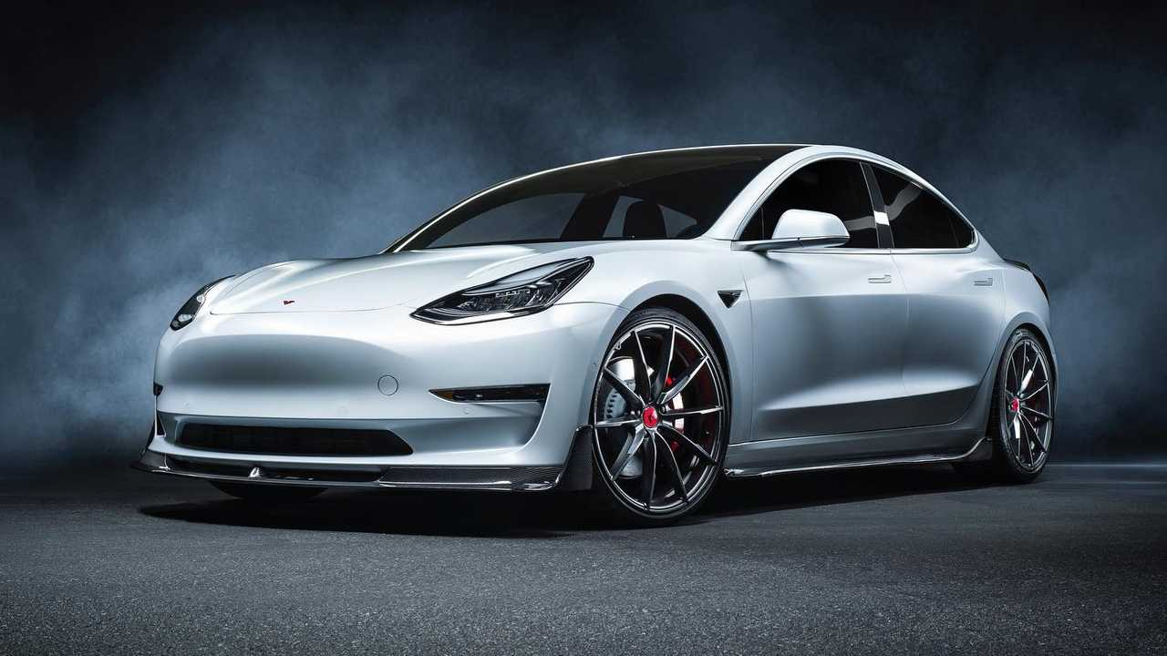 Vorsteiner Tesla Model 3 tuning package