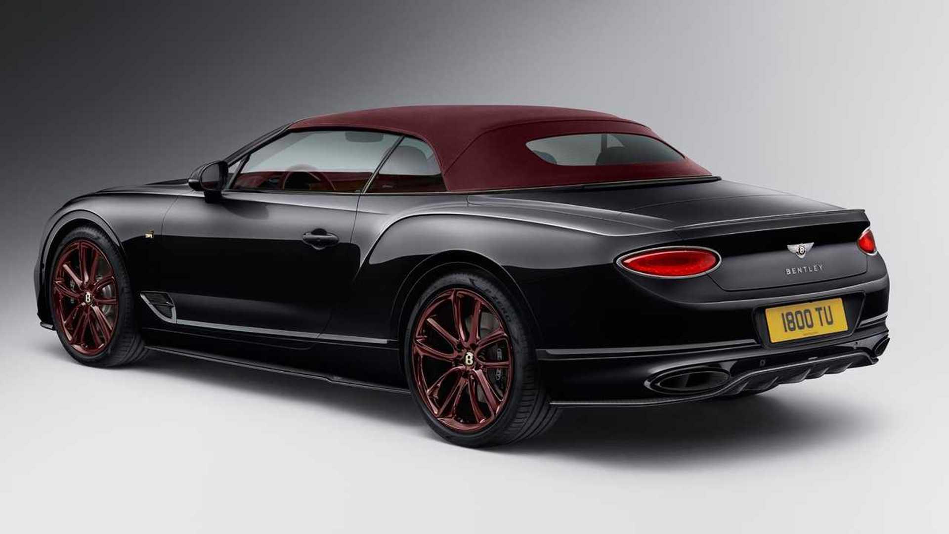 Bentley Gtc Mulliner No 1 Edition