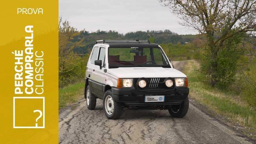 Fiat Panda 4x4, perché comprarla... Classic