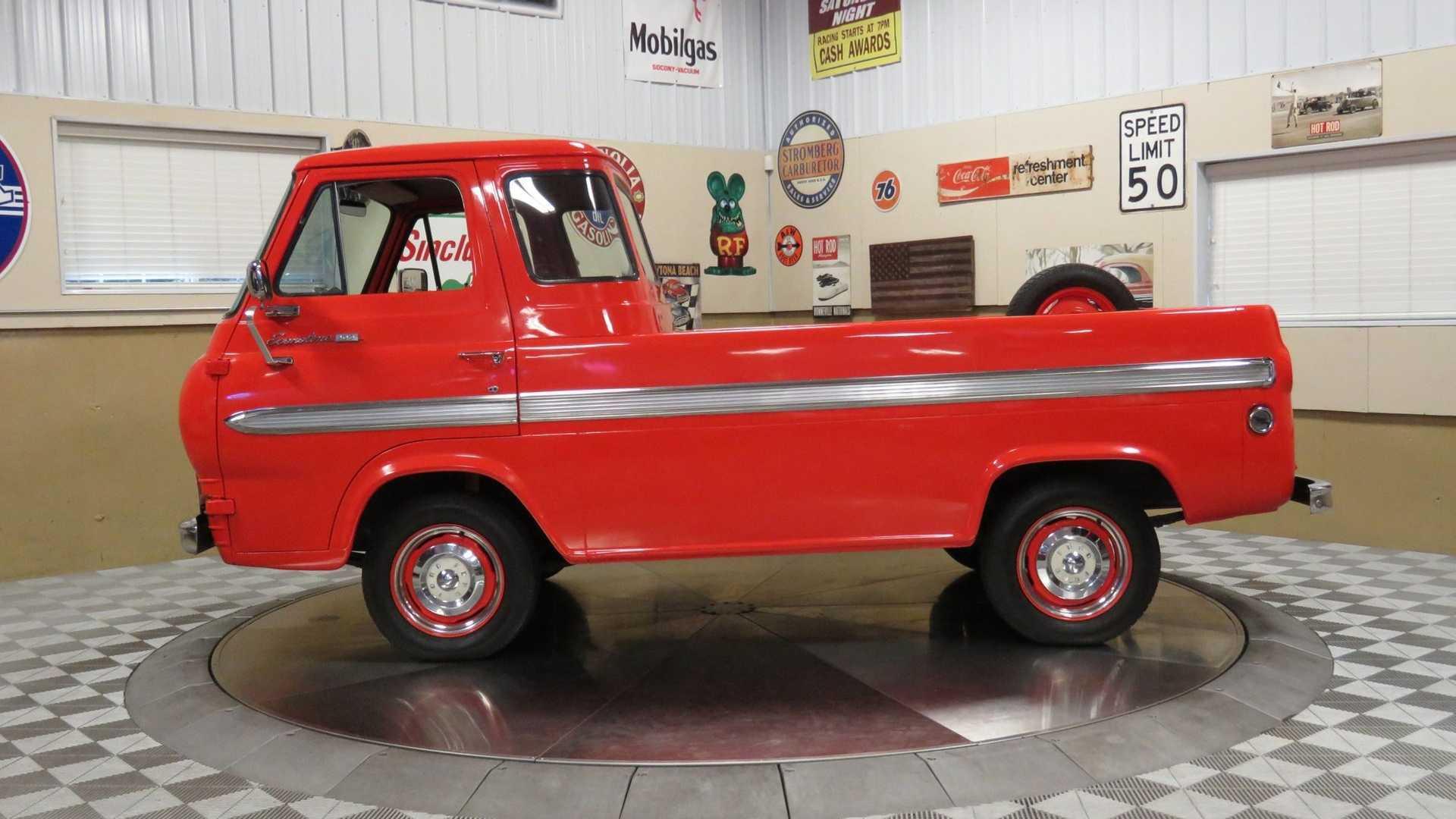 1962 Ford E-100 Econoline Pickup Truck Is A Super Cool Ride