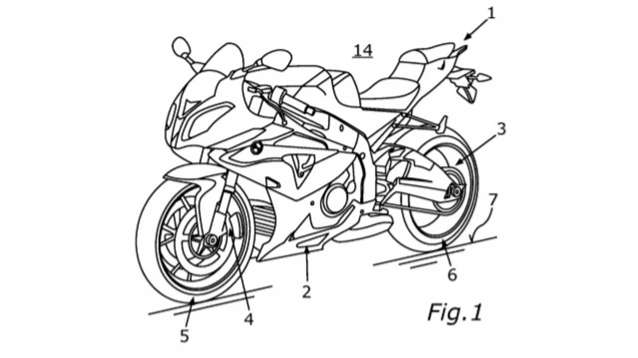 BMW Patent For Electric Supercharger For S1000RR