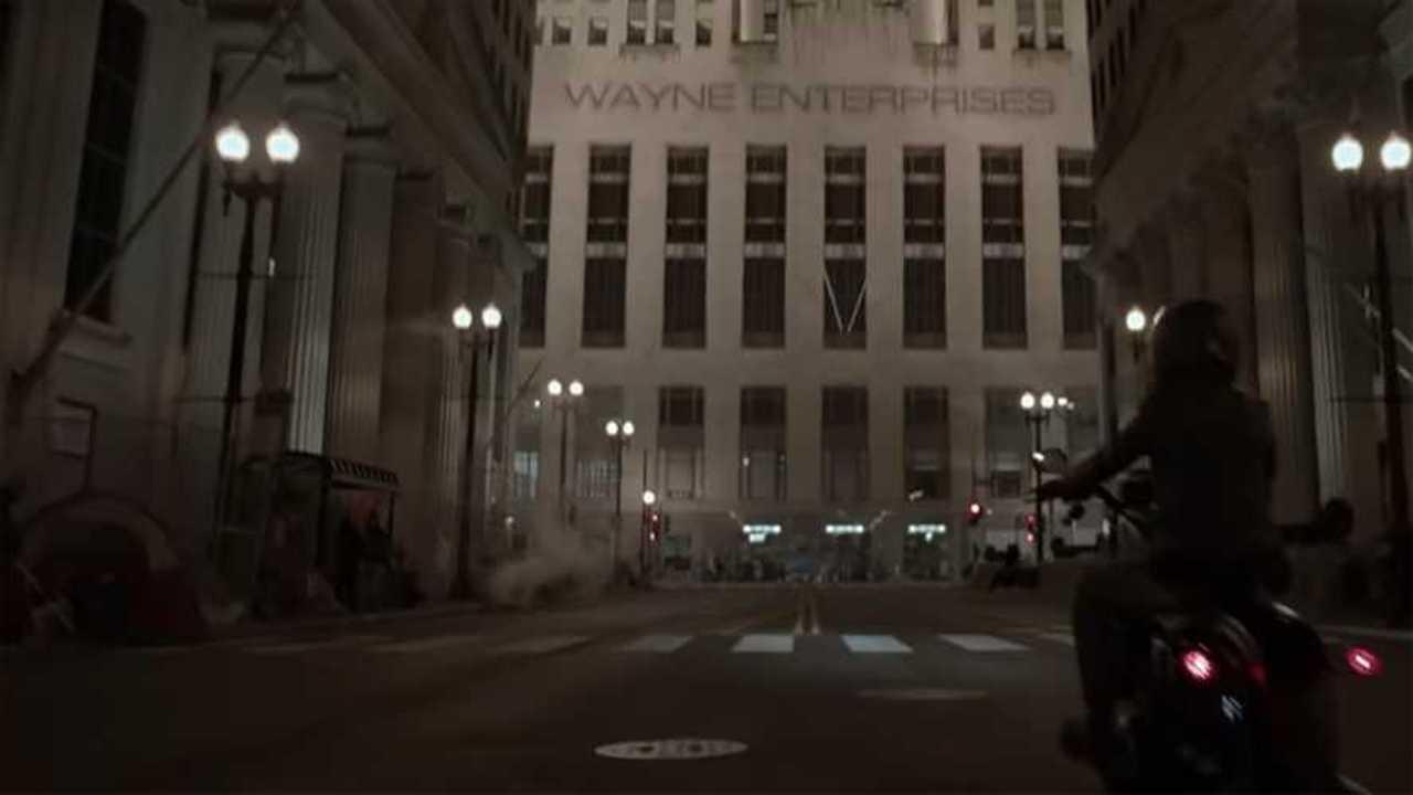 Batwoman Rides A Harley