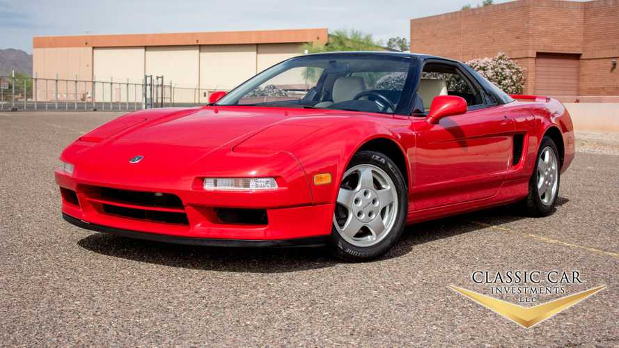 1 of 397 NSX With Low Miles Is Up For Grabs