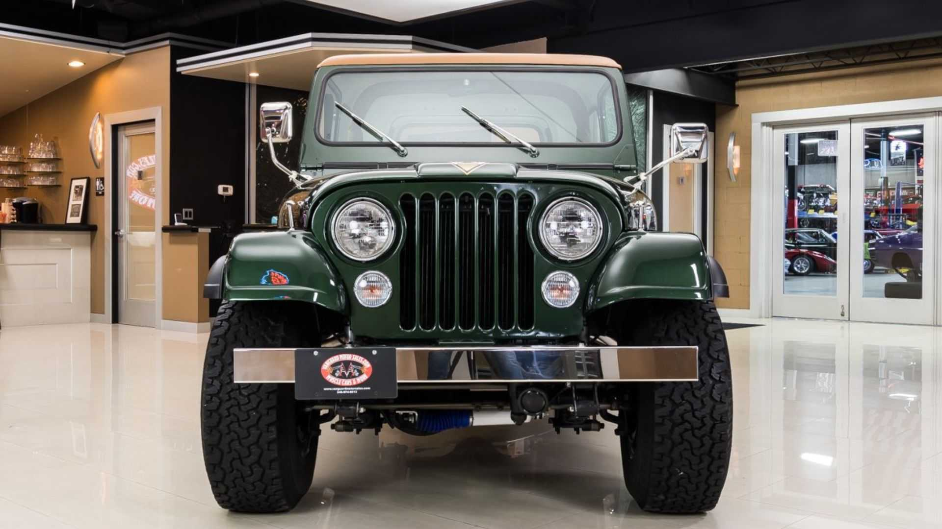 Enjoy The Open Air In A 1977 Jeep CJ-7 Golden Eagle | Motorious