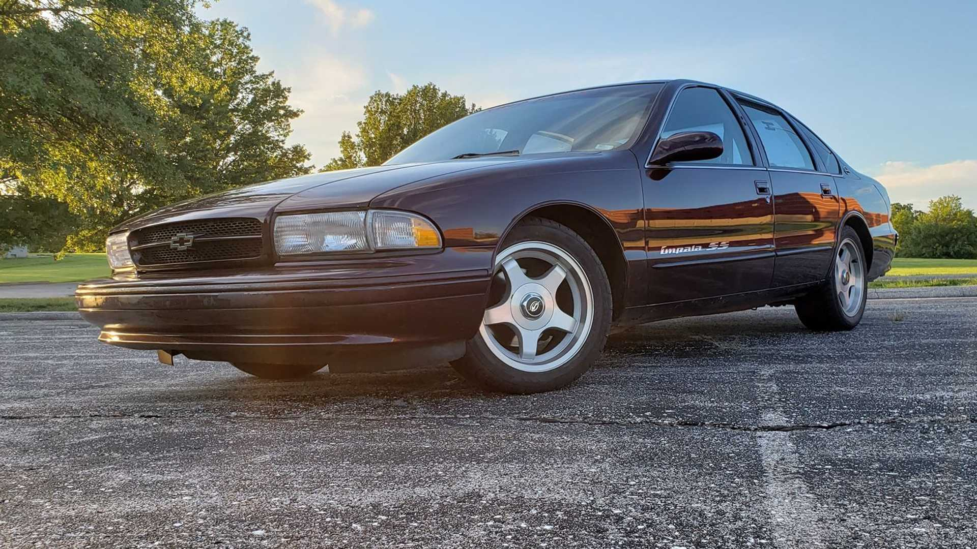 "[""1995 Chevrolet Impala SS Takes Emotional Cruise To Woodward""]"