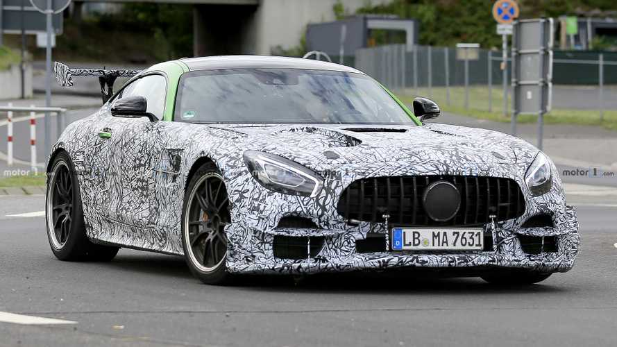 Nurburgring Taxi Company Claims AMG GT-R Black Series Has 720 HP