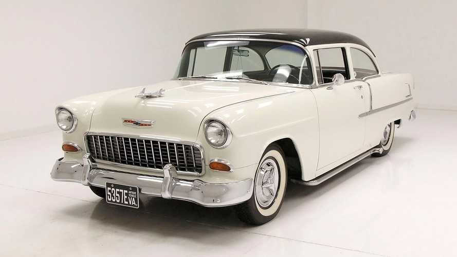 Hit The Beach In This 1955 Chevrolet Delray