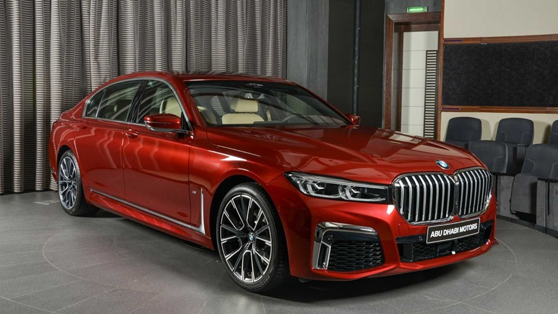 Base Bmw 7 Series Gets Glammed Up With Individual Options