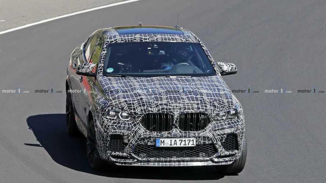 Photo espion BMW X6 M
