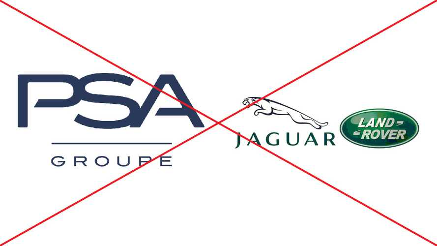 No, PSA is not buying Jaguar Land Rover from Tata Motors