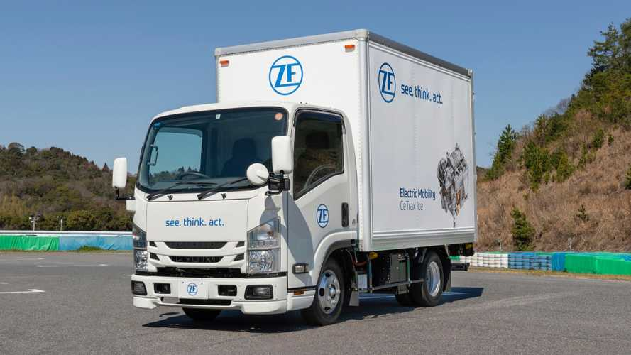 ZF Presents 150 kW Powertrain For Japanese Trucks