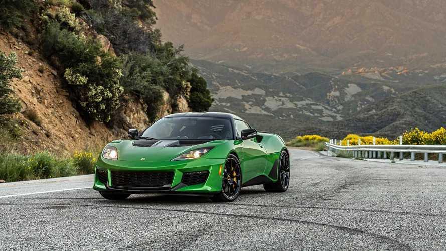 2019 Lotus Evora GT 422 bg'le ABD'de