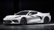2020 Chevrolet Corvette Vossen wheels