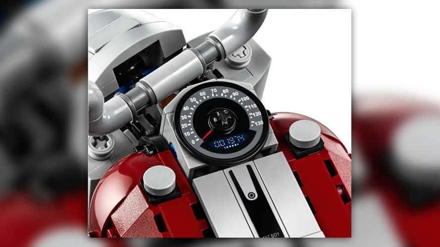 Harley-Davidson LEGO Fat Boy