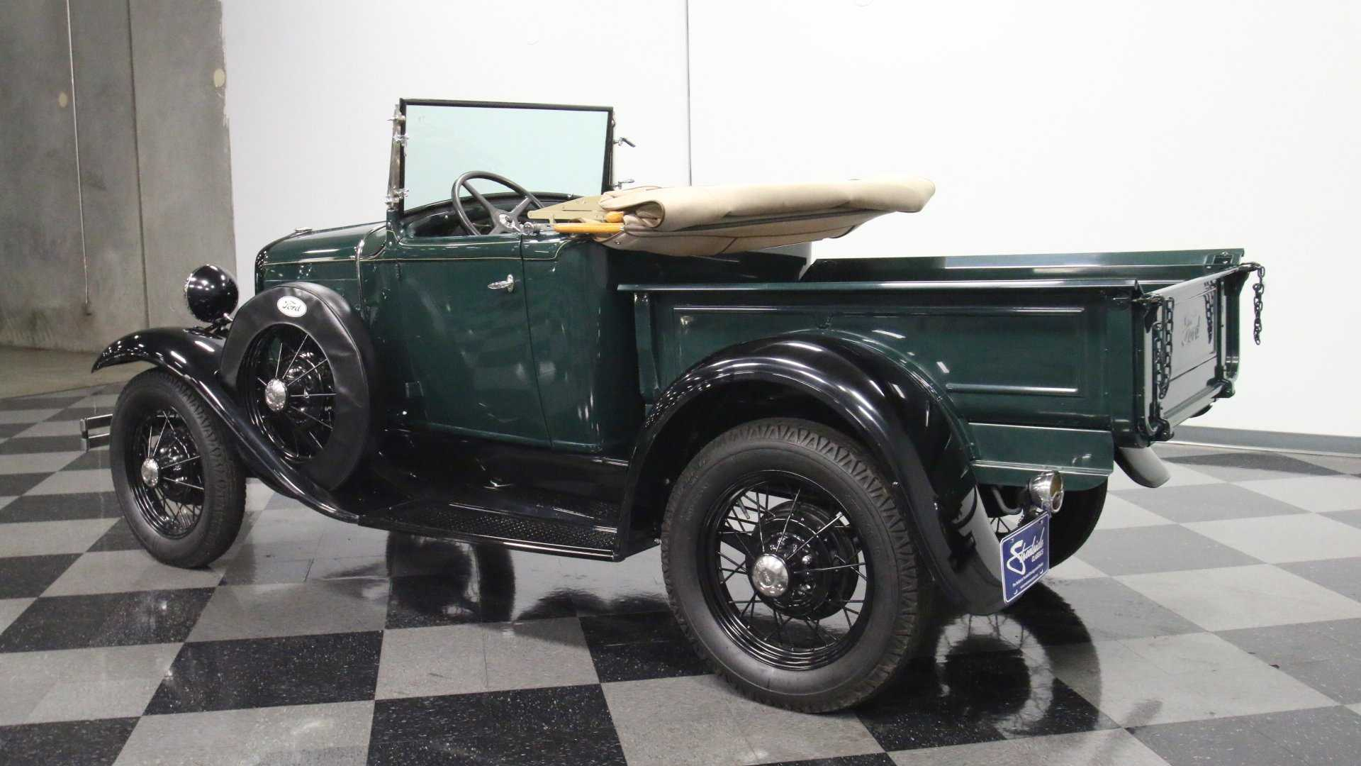 Super Rare Clean Find 1931 Ford Model A Roadster Pickup Motor1 Com Photos