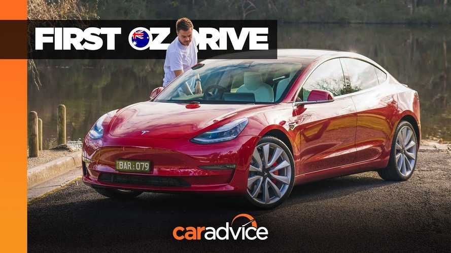 CarAdvice Tests First Tesla Model 3 Performance In Australia: Video