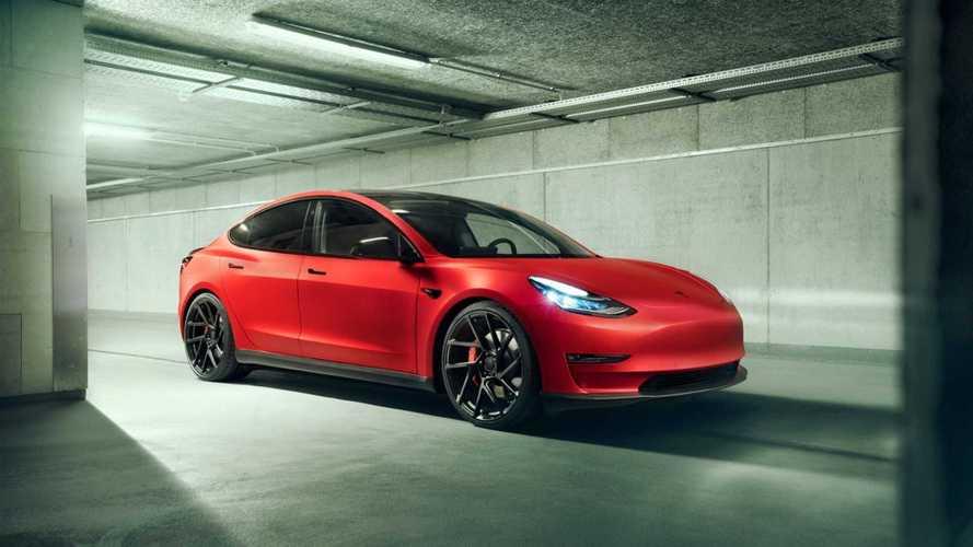 Novitec añade más deportividad al Tesla Model 3