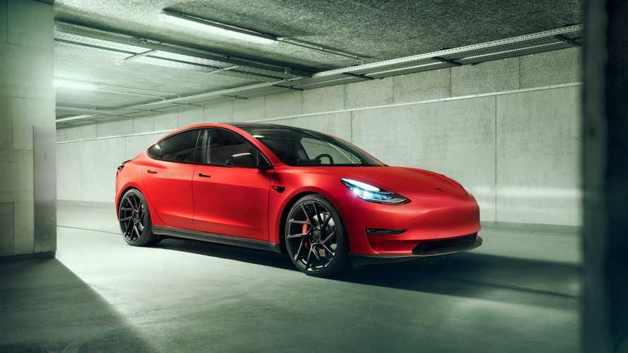 Novitec Tesla Model 3: Carbon, 21 Zoll und weniger Strom