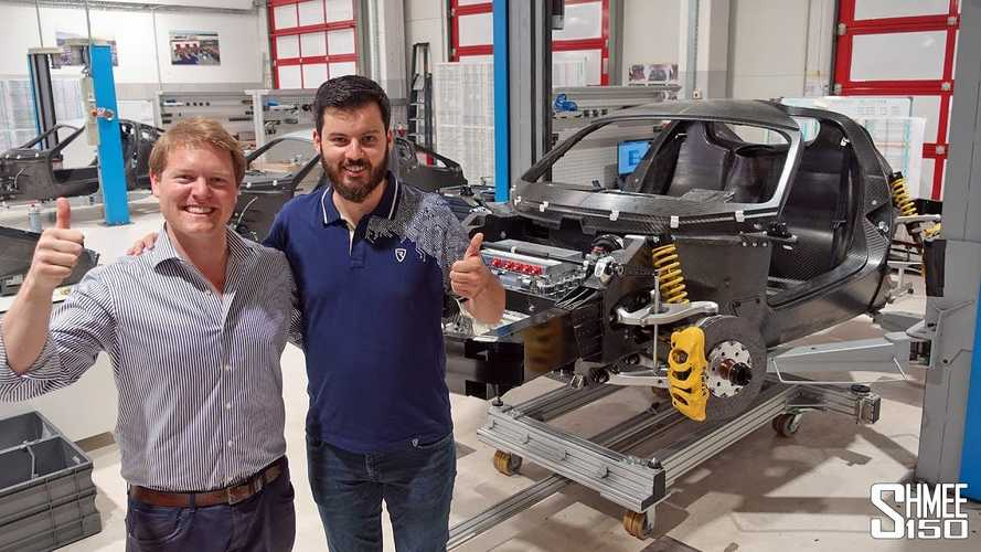Rimac Automobili Factory Tour With Mate Rimac: Video