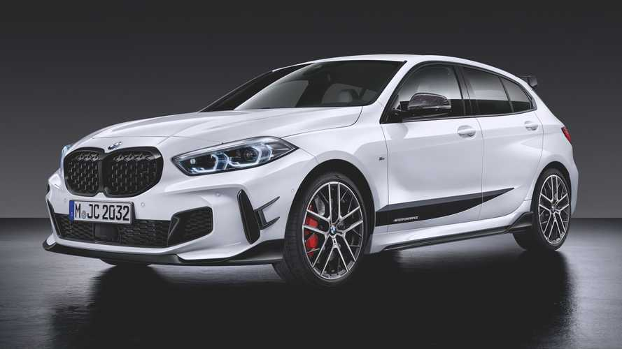 Conoce el BMW M135i xDrive con accesorios M Performance Parts