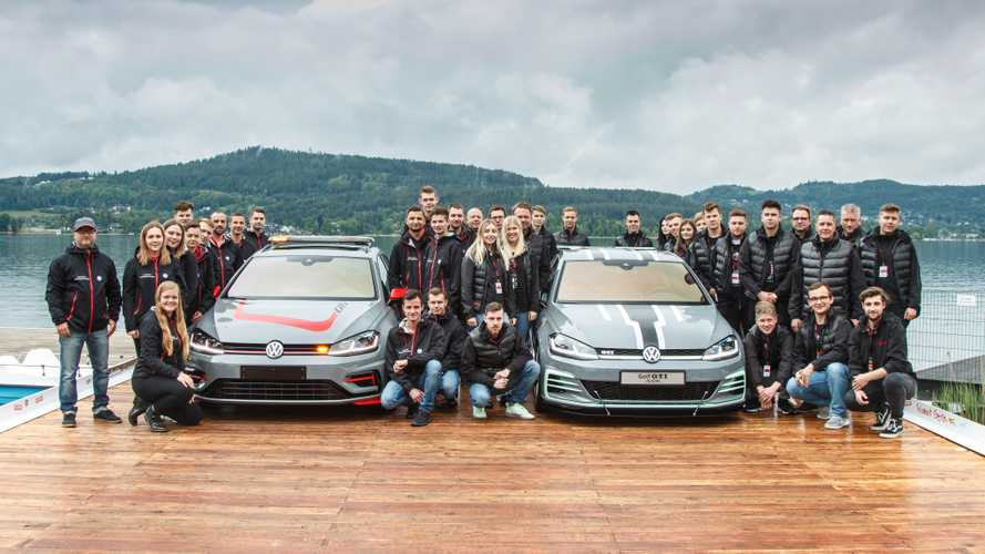 VW Golf GTI e Golf R Wagon no Wörthersee 2019