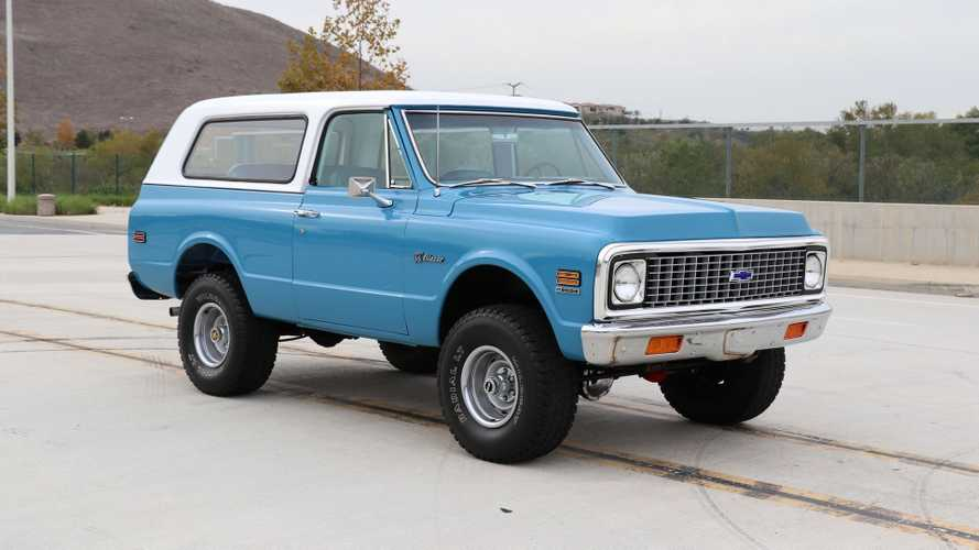 Ride Out In This Restored 1971 Chevy K5 Blazer