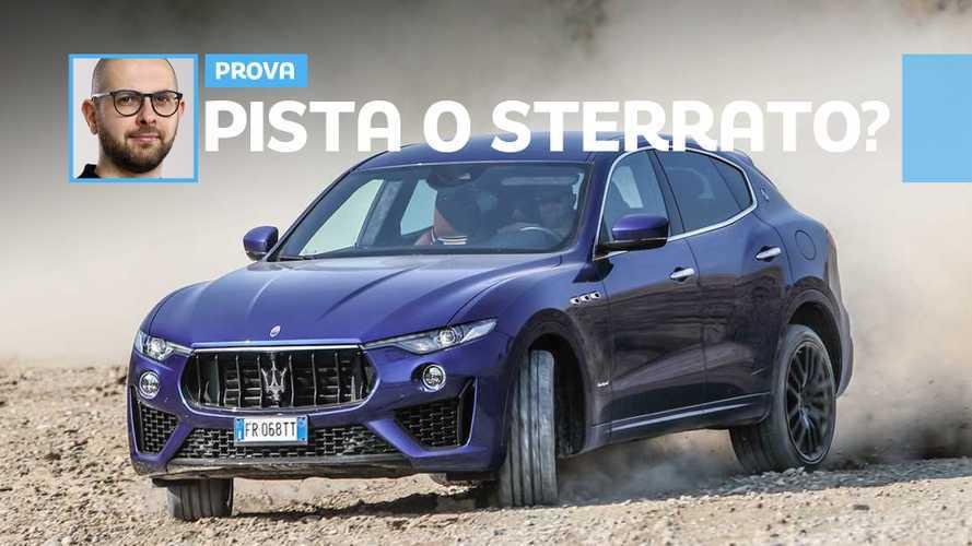 Maserati Levante V8: meglio launch control oppure offroad?