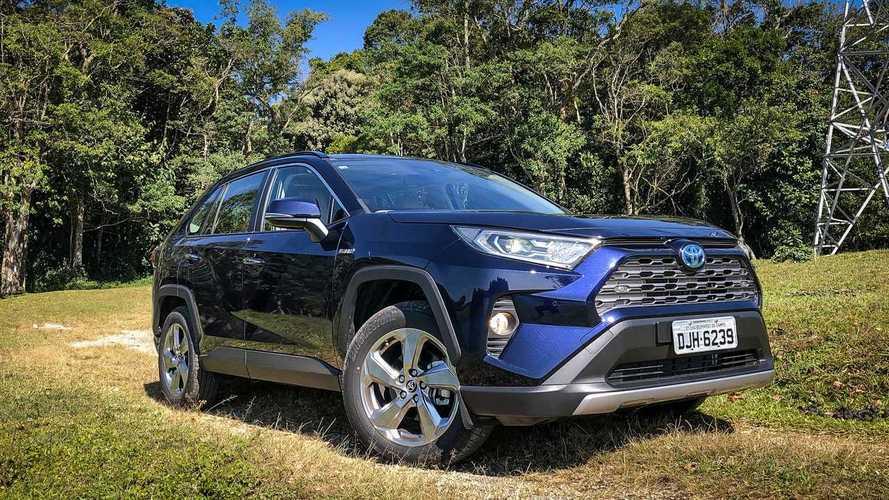SUVs em janeiro: Toyota RAV4 se aproxima do vice-líder VW Tiguan