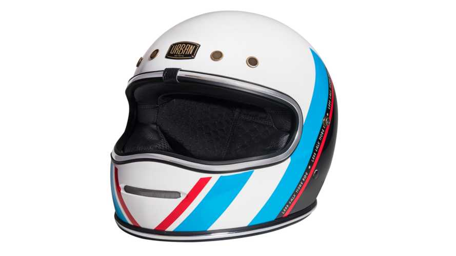 Ultra Retro: Urban's BigBore Motorcycle Helmet