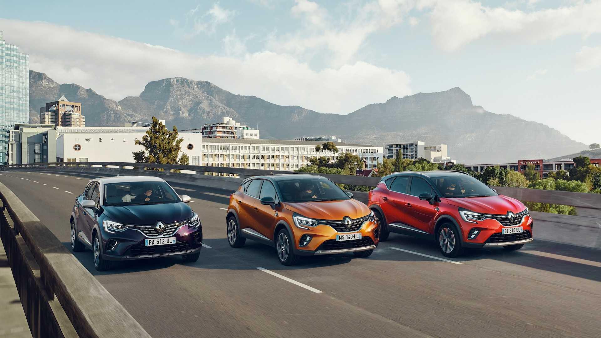 ใหม่ Renault Captur 2020
