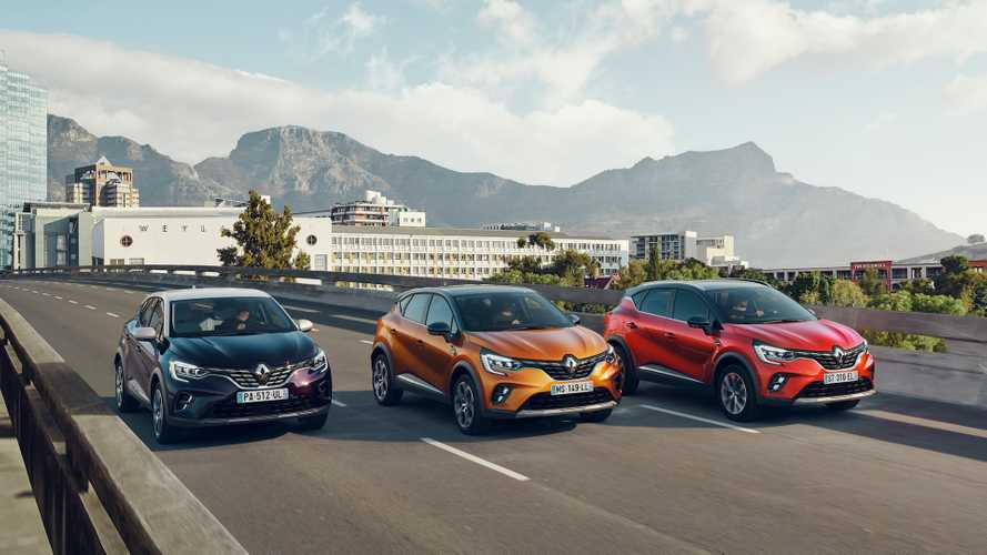 Renault Captur 2020 (Europa)
