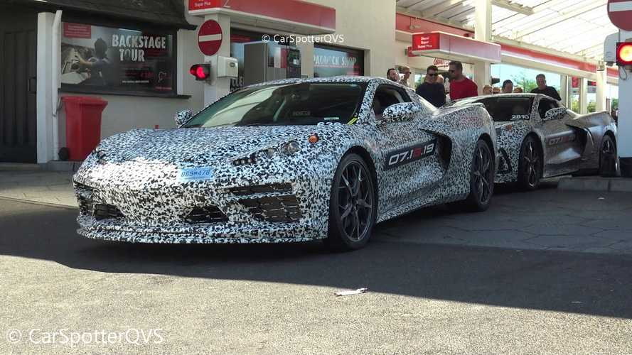 C8 Corvette Caught On Video Testing At The Nurburgring