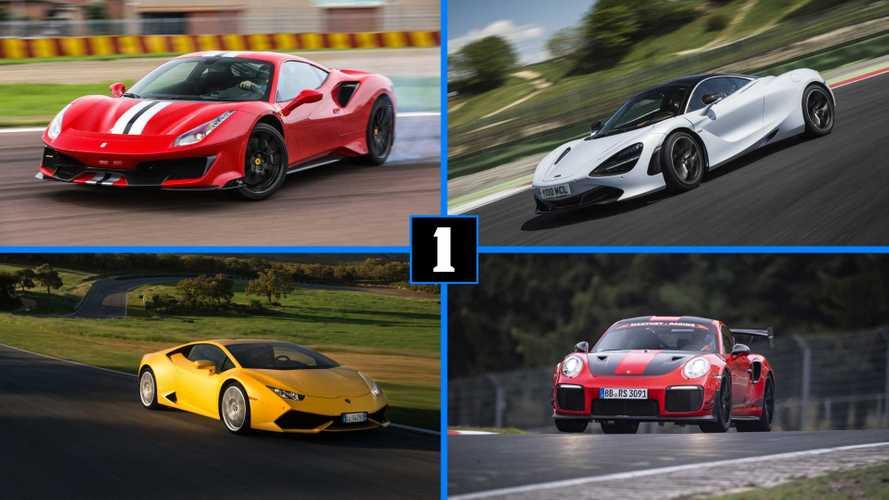 Los 10 coches con mejor relación peso/potencia