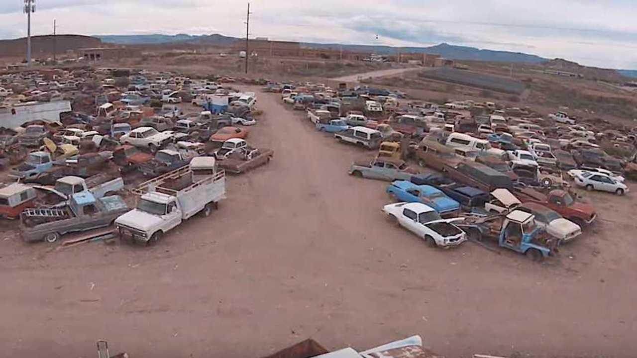 VIDEO: Bodyshop Leftover 'Barn Finds' Sprawl 20 Acres
