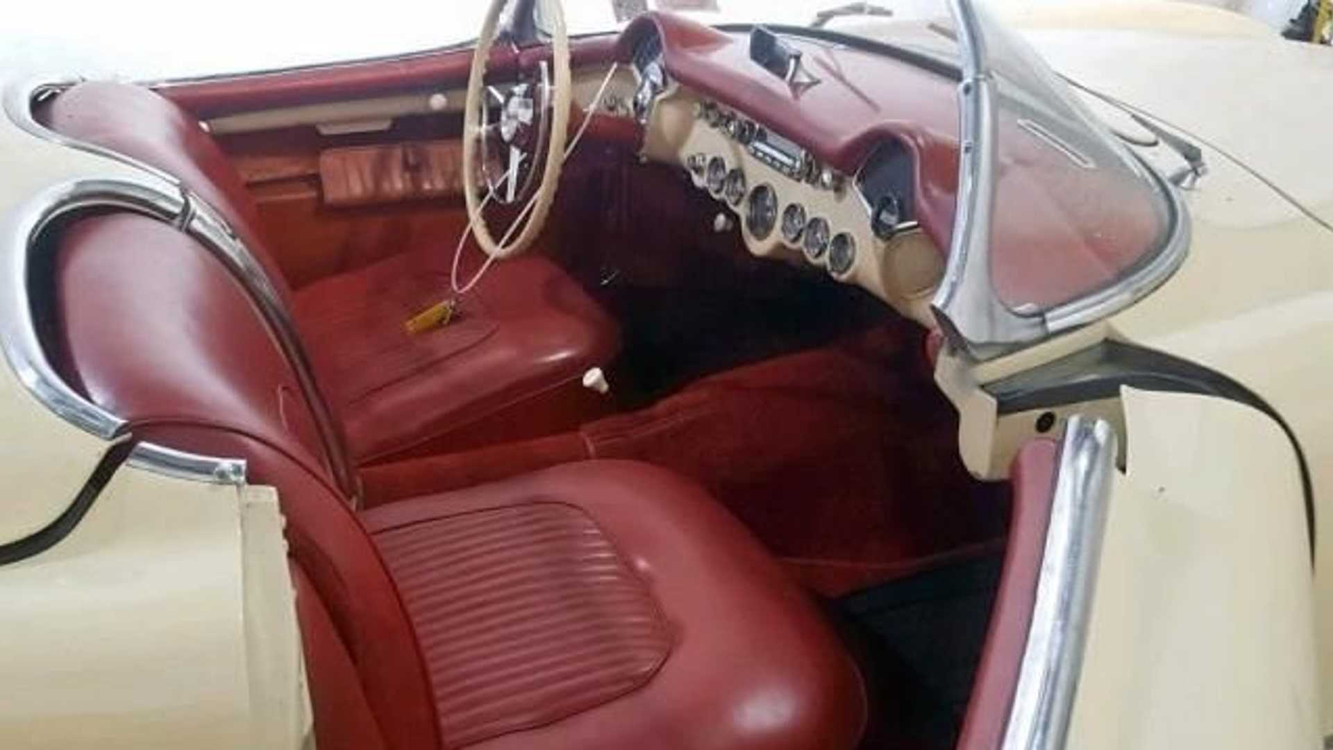 """[""""This 1954 Corvette Is Perfect For Sunday Cruising""""]"""