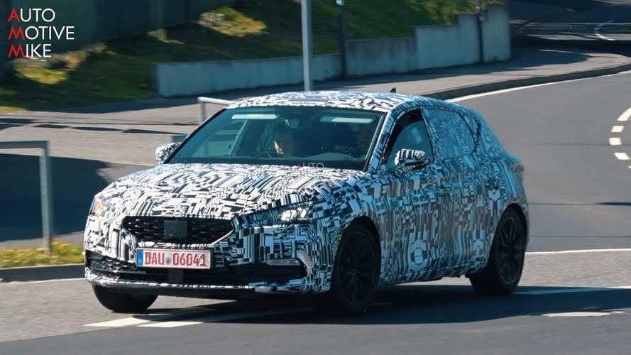 2020 SEAT Leon Spied Testing At The Nurburgring Again