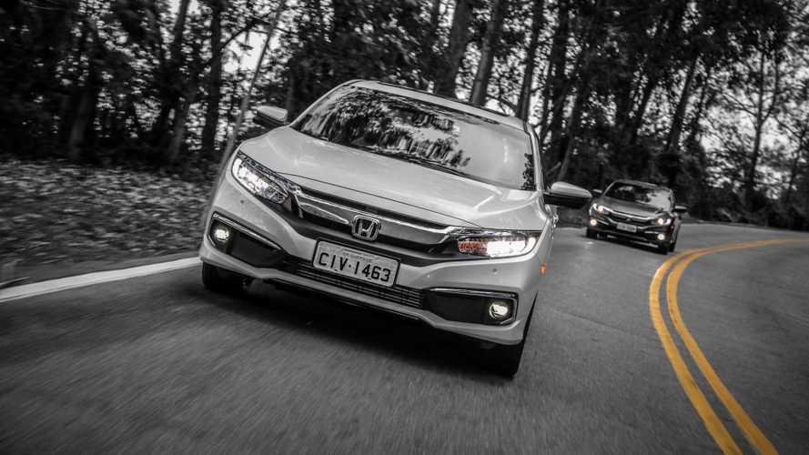 Civic e Cruze reduzem distância para o Corolla; veja ranking de vendas