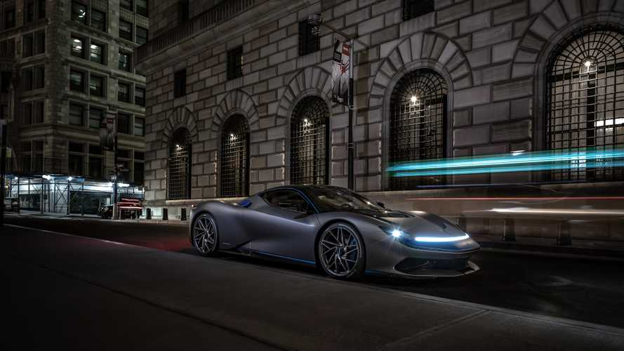 Pininfarina Battista à New York