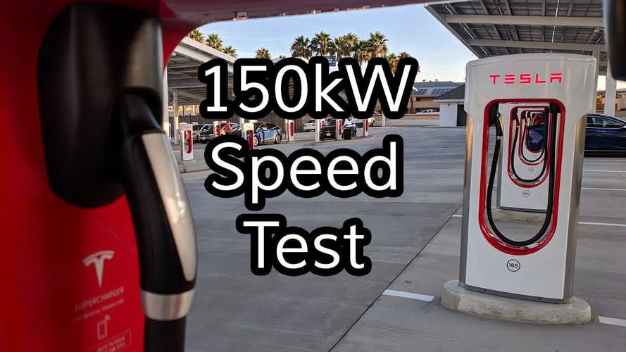 150 kW Tesla Supercharger V2: How Much Faster Is It?