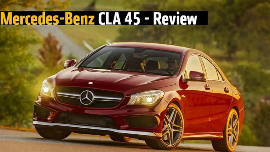 Mercedes-Benz CLA 45 - Review