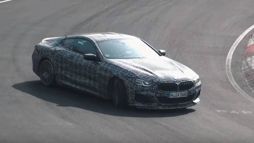BMW M850i Coupe Prototype Loves To Drift On The Nurburgring