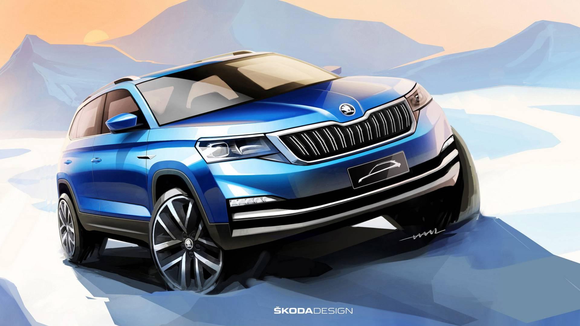 Skoda - crossovers ve SUV: bir fotoğraf, fotoğraf