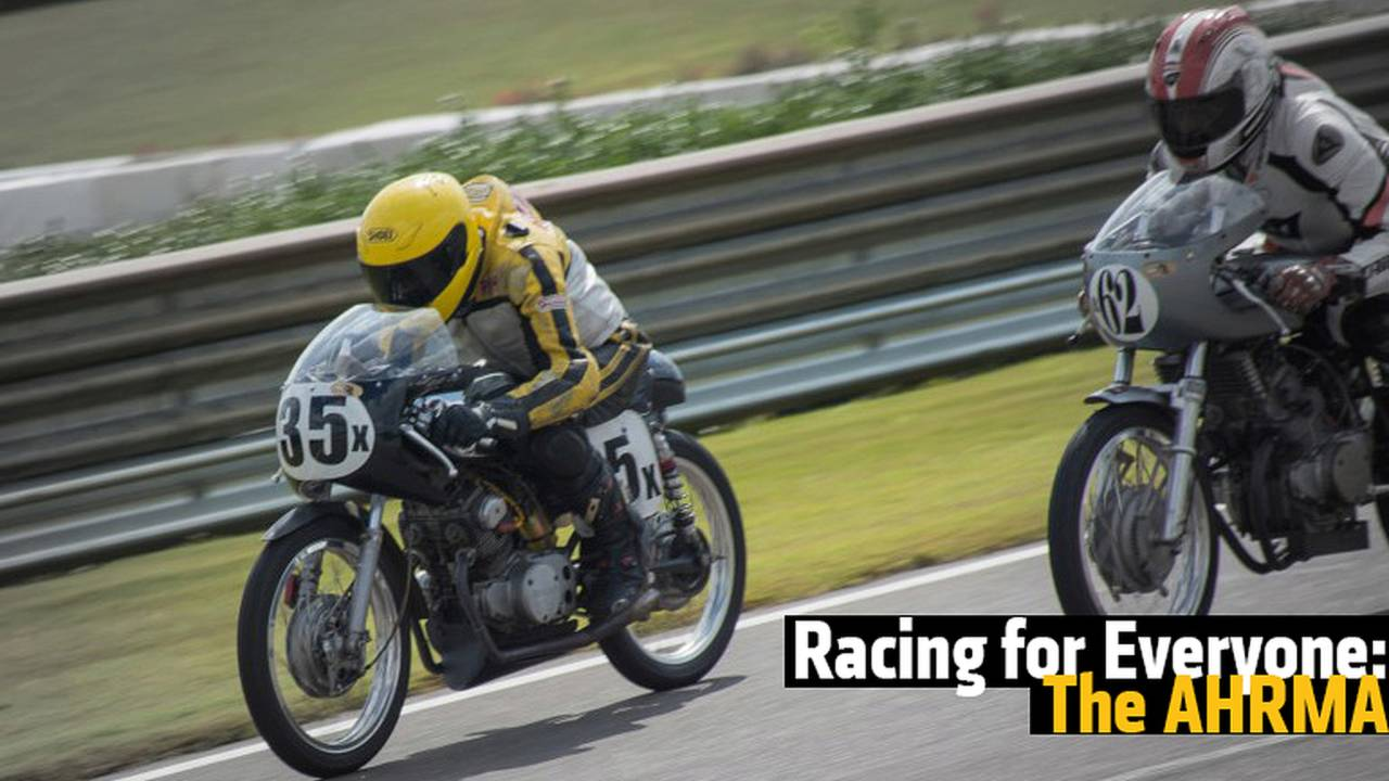 Racing for Everyone: The American Historic Racing Motorcycle Association